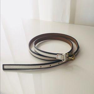 GAP belt, cute Summer belt, black/white ☀️